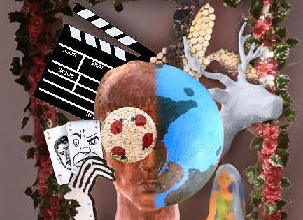 """Digitale Ausstellung """"Umwelt und Emotion"""" des Projektkurses Kunst im Schuljahr 20/21"""