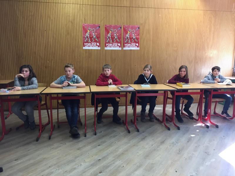 Vorlesewettbewerb am Jan-Joest-Gymnasium schon für Fünftklässler