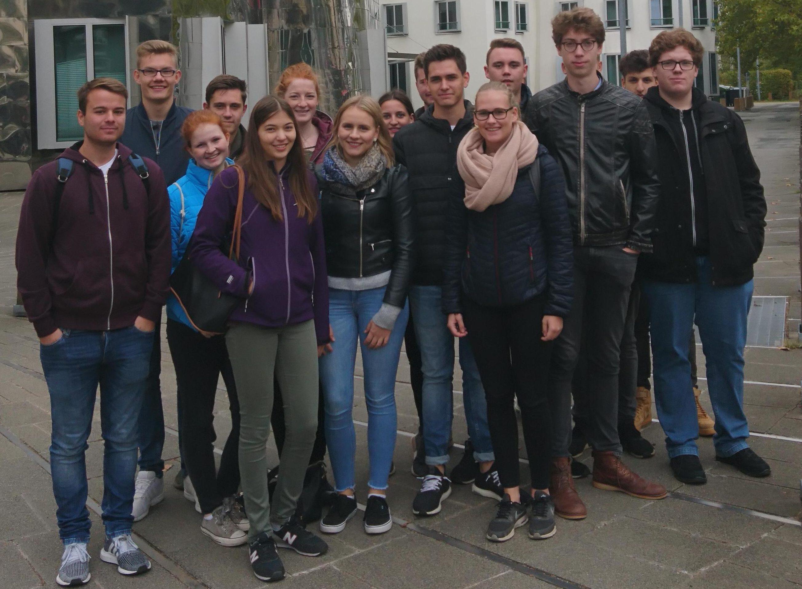 Stadtexkursion des Q2 LK Erdkunde nach Düsseldorf