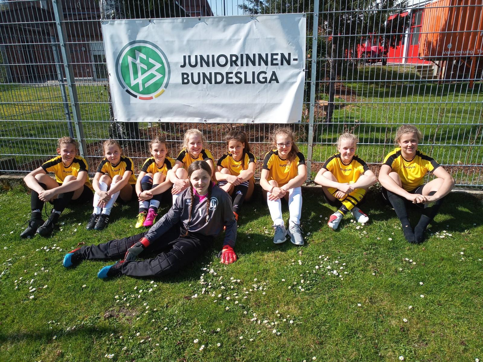 JJG-Fußballerinnen am Ende ohne Glück, aber mit viel Herz!