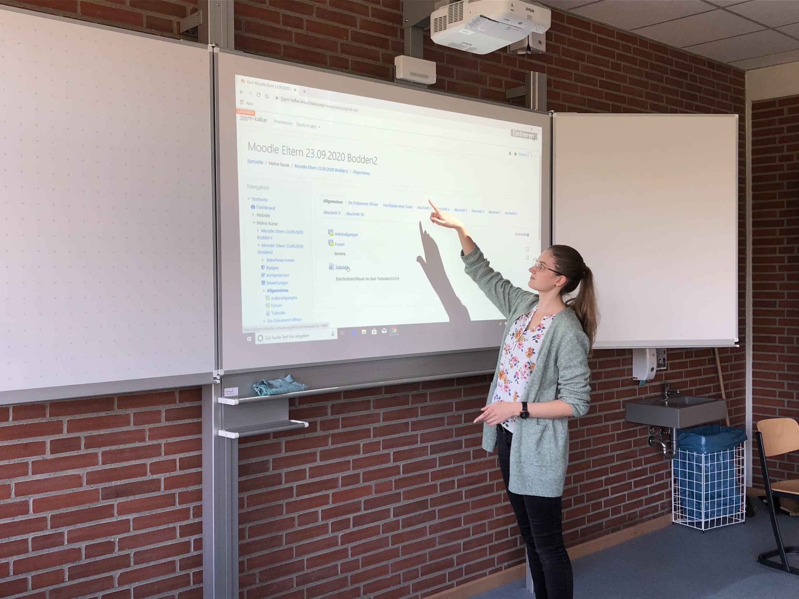 Moodle – Workshop für Eltern und Schüler