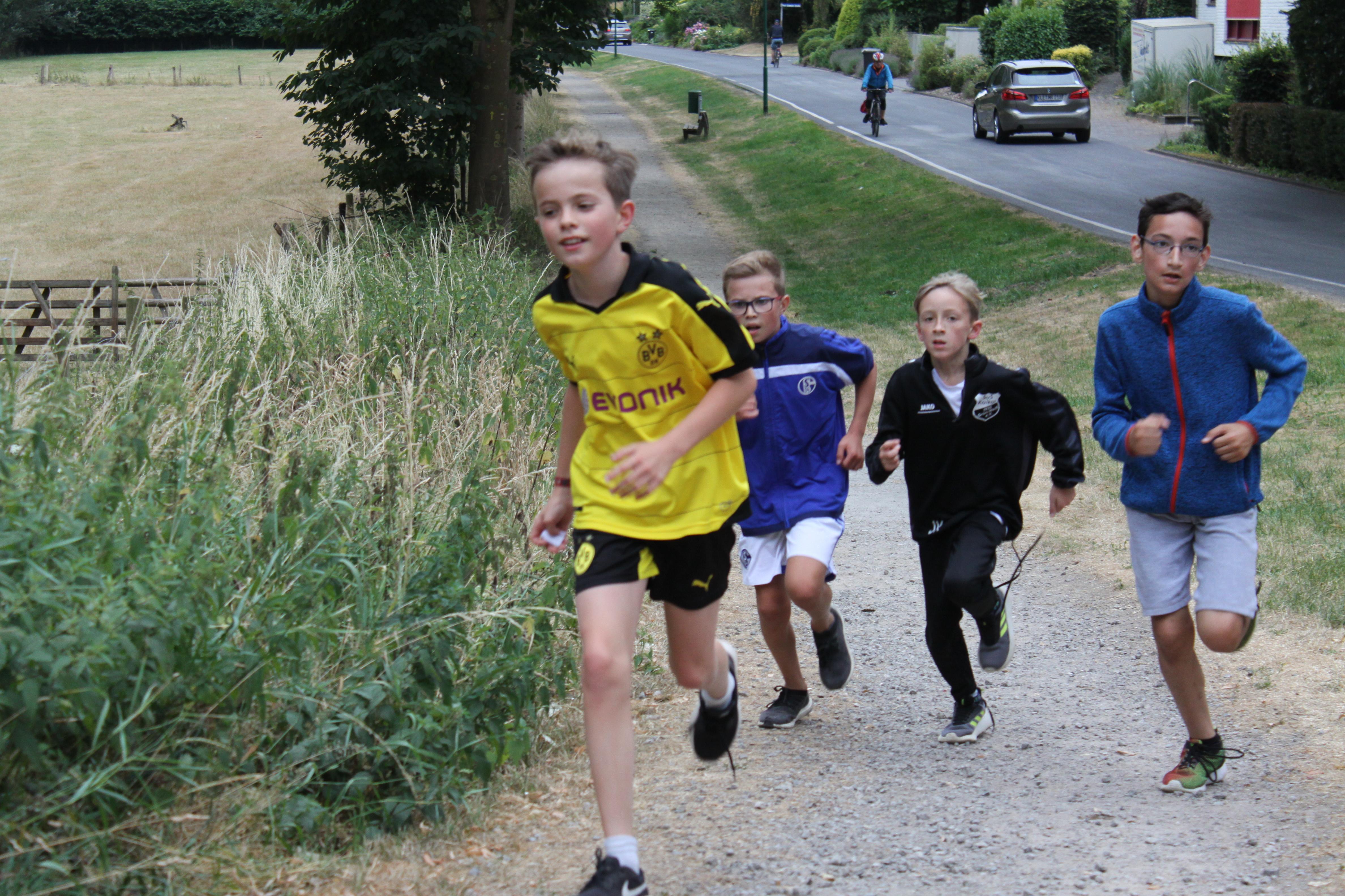 Laufen für den guten Zweck – Sponsorenlauf 2018