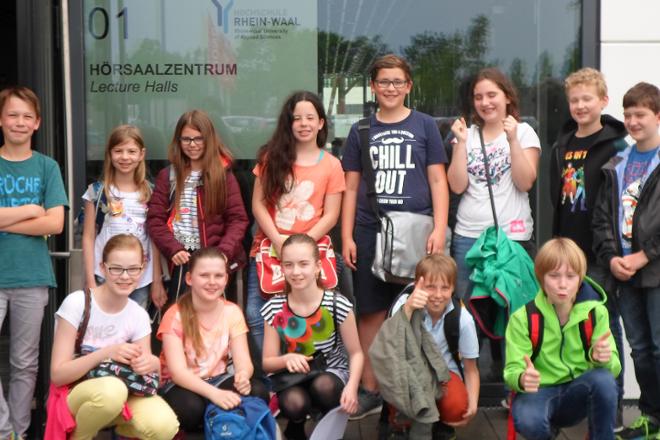 Ankündigung: Kinder-Uni der Hochschule Rhein-Waal am 29.11.2017 und 31.1.2018
