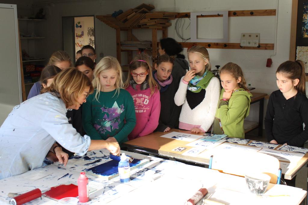Anrufen und Mitmachen! Kunstworkshop für die Schüler/innen der vierten Grundschulklassen im Januar 2018
