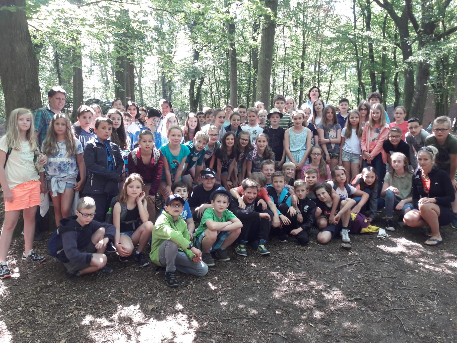 Klassenfahrt der Jahrgangsstufe 5 nach Brüggen