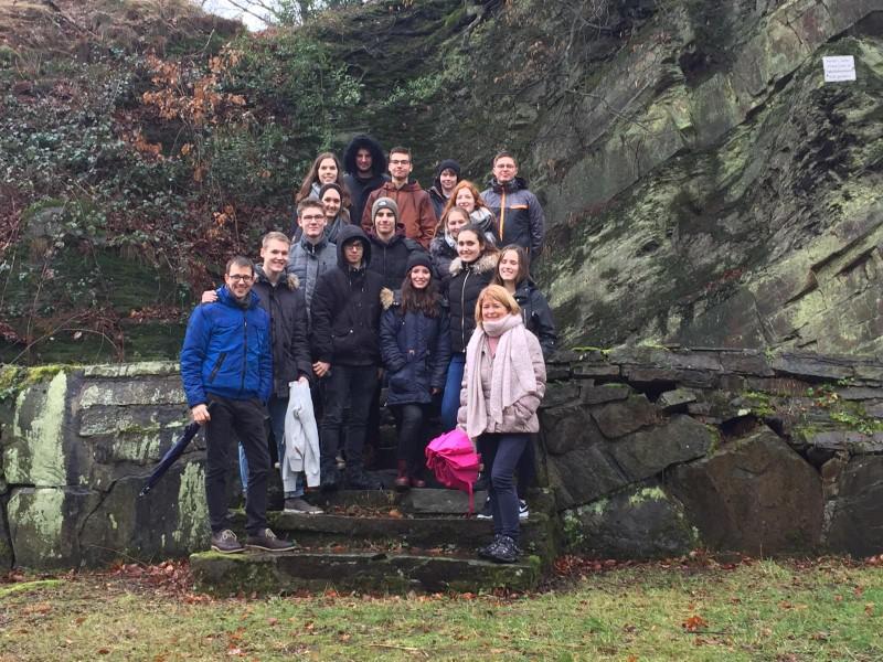"""Vorbereitungswochenende für die """"USA-Exkursion Mittlerer Westen"""" im Sommer 2019 in Hattingen"""